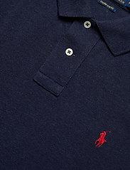 Polo Ralph Lauren - Custom Slim Fit Mesh Polo - short-sleeved polos - spring navy heath - 2