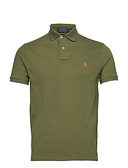 Custom Slim Fit Mesh Polo - SUPPLY OLIVE