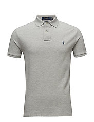 Custom Slim Fit Mesh Polo - TAYLOR HEATHER