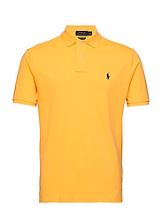 Custom Slim Fit Mesh Polo - YELLOWFIN/C7315
