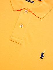 Polo Ralph Lauren - Custom Slim Fit Mesh Polo - polos à manches courtes - yellowfin/c7315 - 2