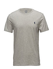 Custom Slim Fit Cotton T-Shirt - NEW GREY HEATHER