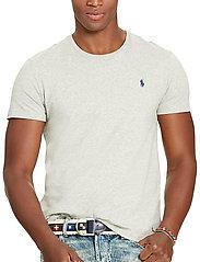Polo Ralph Lauren - Custom Slim Fit Cotton T-Shirt - basic t-shirts - new grey heather - 0