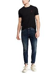 Polo Ralph Lauren - Custom Slim Fit Cotton T-Shirt - basic t-shirts - rl black - 4