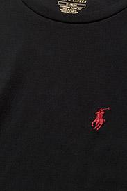 Polo Ralph Lauren - Custom Slim Fit Cotton T-Shirt - basic t-shirts - rl black - 6