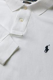 Polo Ralph Lauren - Custom Slim Fit Mesh Polo - lange mouwen - white - 2