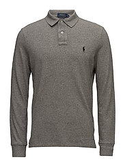 Classic Fit Long-Sleeve Polo - CANTERBURY HEATHE