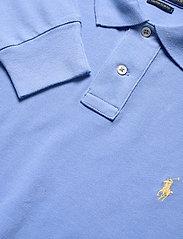 Polo Ralph Lauren - Custom Slim Fit Mesh Polo - pitkähihaiset - cabana blue - 2
