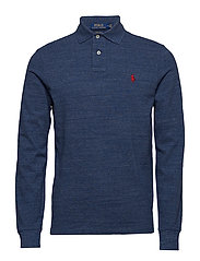 Custom Slim Fit Mesh Polo - CLASSIC ROYAL HEA