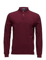 Custom Slim Fit Mesh Polo - CLASSIC WINE