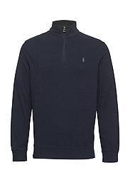 Jersey Half-Zip Pullover - AVIATOR NAVY