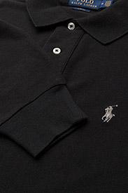 Polo Ralph Lauren - Slim Fit Mesh Long-Sleeve Polo - lange mouwen - polo black - 2