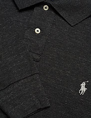 Polo Ralph Lauren - Slim Fit Mesh Long-Sleeve Polo - lange mouwen - black marl heathe - 2