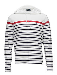 Cotton Jersey Hooded T-Shirt - CLASSIC OXFORD WH