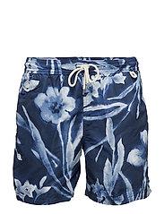 Traveller Swim Trunk - RINCON BLUE FLORA