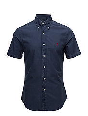 Slim Fit Oxford Shirt - NEWPORT NAVY