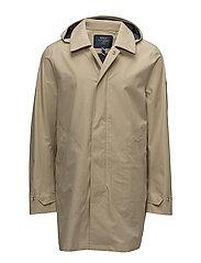 Waterproof Twill Coat - CLASSIC KHAKI