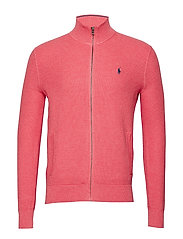 Cotton Full-Zip Sweater - HIGHLAND ROSE HEA