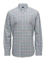 Slim Fit Cotton Oxford Shirt - 2596 SPRING GREEN