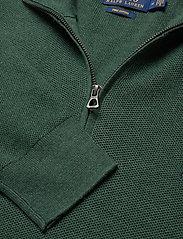Polo Ralph Lauren - Cotton Half-Zip Sweater - half zip jumpers - hemlock green - 3