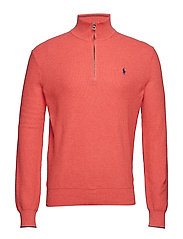 Cotton Half-Zip Sweater - HIGHLAND ROSE HEA