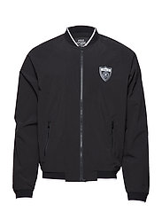 2 LAYER POLY-P-WING BOMBR - POLO BLACK