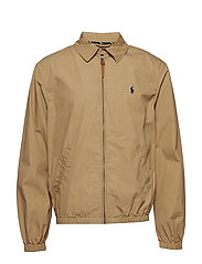 Bayport Cotton Windbreaker - LUXURY TAN