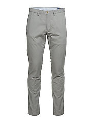 Stretch Slim Fit Cotton Chino - MUSEUM GREY