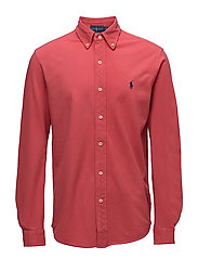 Featherweight Mesh Shirt - SPRING RED