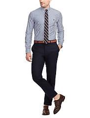 Polo Ralph Lauren - Slim Fit Stretch Cotton Shirt - business shirts - blue/white bengal - 4