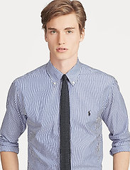 Polo Ralph Lauren - Slim Fit Stretch Cotton Shirt - business shirts - blue/white bengal - 5