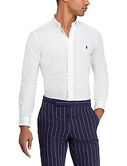 Polo Ralph Lauren - Slim Fit Stretch Cotton Shirt - business shirts - white - 0