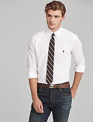 Polo Ralph Lauren - Slim Fit Stretch Cotton Shirt - business shirts - white - 6