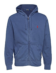 Cotton Spa Terry Hoodie - CRUISE NAVY