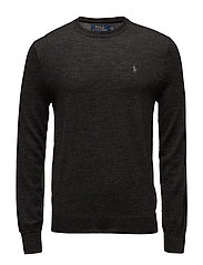 LS SF CN PP-LONG SLEEVE-SWEATER - DARK GRANITE HEAT