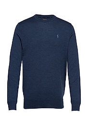 LS SF CN PP-LONG SLEEVE-SWEATER - FEDERAL BLUE HEAT