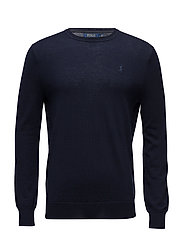 LS SF CN PP-LONG SLEEVE-SWEATER - HUNTER NAVY