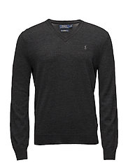 Slim Washable Merino Sweater - DARK GRANITE HEAT
