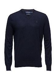 LS SF VN PP-LONG SLEEVE-SWEATER - HUNTER NAVY
