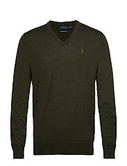 LS SF VN PP-LONG SLEEVE-SWEATER - OIL CLOTH GREEN