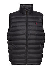 94017e5b695 Packable Down Vest - POLO BLACK