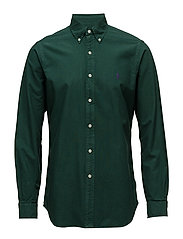 Classic Fit Oxford Shirt - COLLEGE GREEN