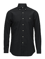 Classic Fit Oxford Shirt - POLO BLACK