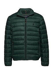 Packable Quilted Down Jacket - COLLEGE GREEN