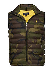 Camo Packable Down Vest - VINTAGE SURPLUS C