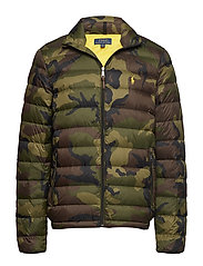 Camo Packable Down Jacket - VINTAGE SURPLUS C