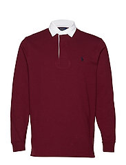 The Iconic Rugby Shirt - CLASSIC WINE/C791