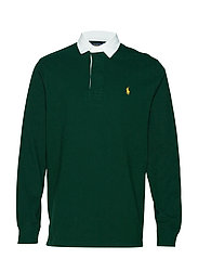The Iconic Rugby Shirt - COLLEGE GREEN