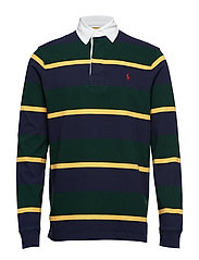 The Iconic Rugby Shirt - COLLEGE GREEN MUL