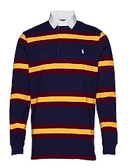 The Iconic Rugby Shirt - FRENCH NAVY MULTI